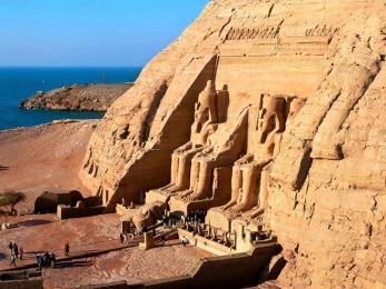Abu Simbel Temple in Aswan
