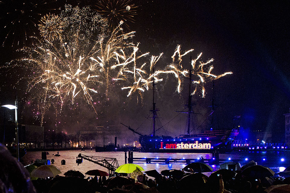 Celebrating New Year's Eve in Amsterdam