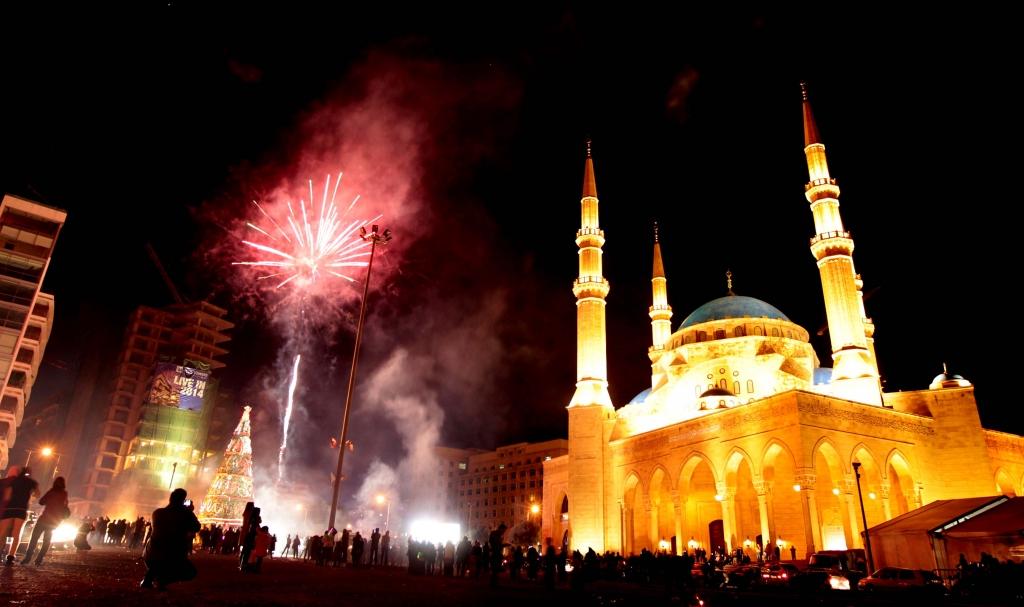 Beirut New Year's Celebration