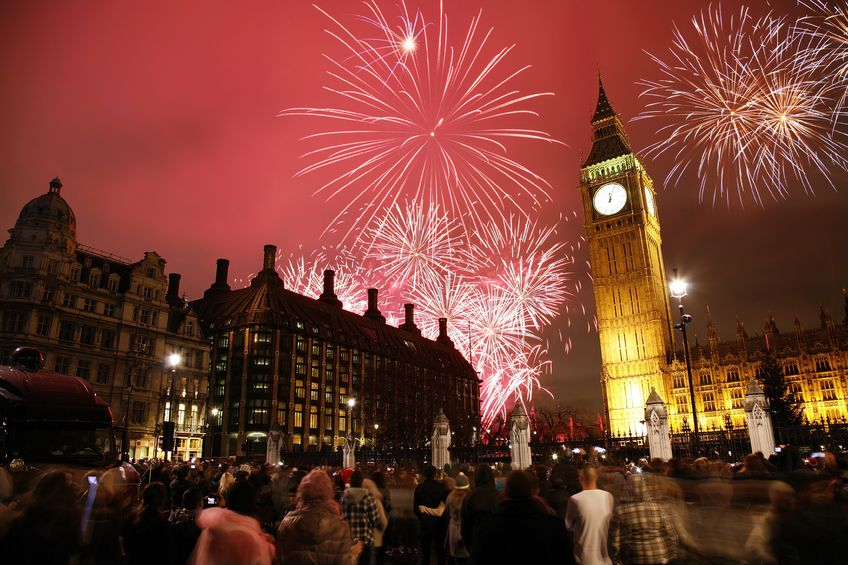Celebrating New Year's Eve in London