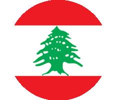 Lebanese Flag-circle-Lebanon